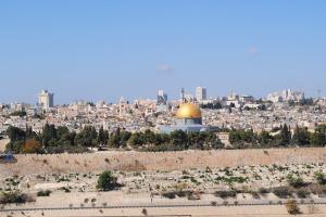 29 octobre Jérusalem vu du Mont des Oliviers (9)