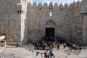 30 octobre   porte de Jaffa (5)