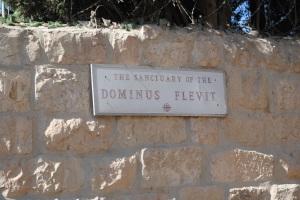 29 octobre Dominus Flevit (1)