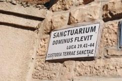 29 octobre Dominus Flevit (2)
