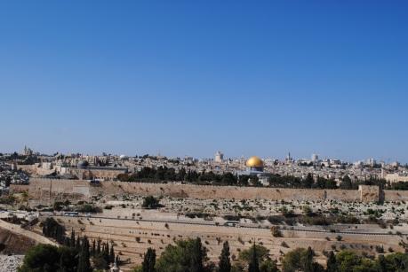 29 octobre Jerusalem vu de Dominus Flevit (2)