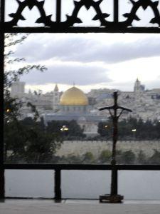 vue de Jérusalem depuis Dominus Flevit