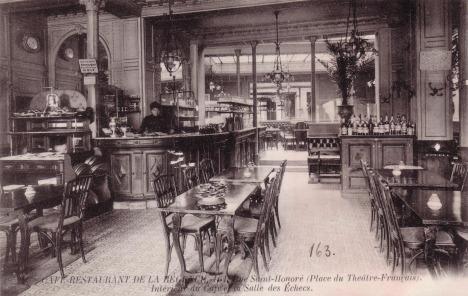"""Résultat de recherche d'images pour """"café de la régence paris philidor"""""""