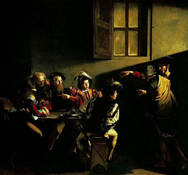 Nunquam retrorsum: Le Caravage : La vocation de saint Matthieu